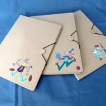 Portadocumentos de cartón