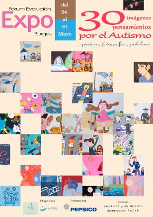 30 imágenes, 30 pensamientos por el autismo
