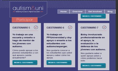 web autism-uni.org