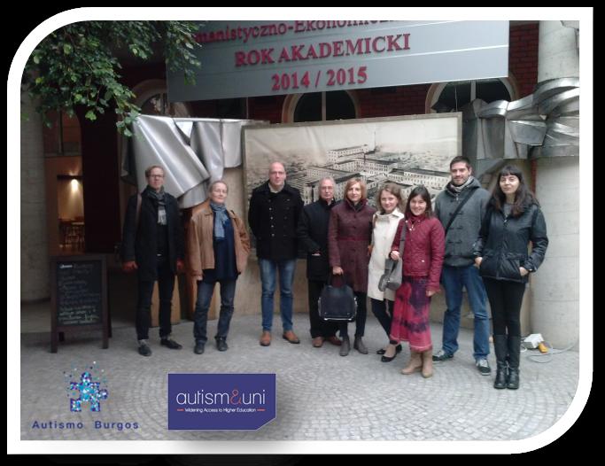 Proyecto Autism&Uni, Reunión en Lodz (Polonia)