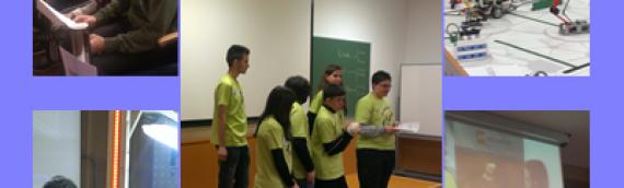 Nuestro Equipo de robótica participa en la First Lego League