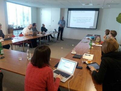 Reunión del Proyecto Autism and Uni en Amsterdam