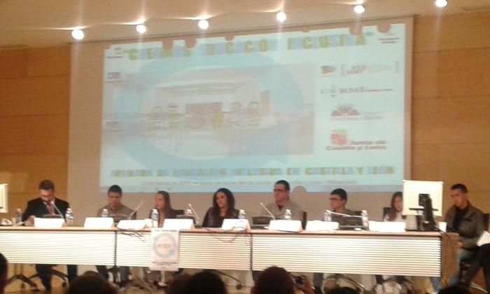 Jornada sobre educación inclusiva  en las Cortes de Castilla y León