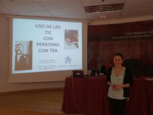 Charla sobre Tecnologías y Trastornos del Espectro del Autismo en la UBU