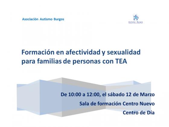 Afectividad y sexualidad en personas con TEA - copia