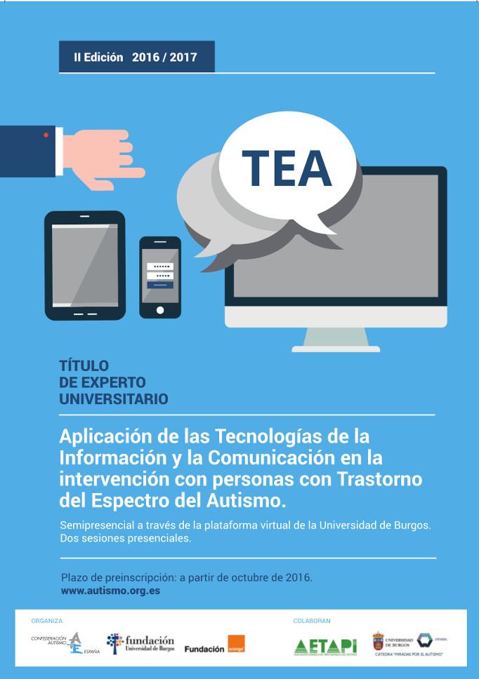 II edición del Curso Experto Universitario TEA y TIC