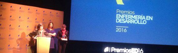 """Premio Enfermería en Desarrollo al proyecto """"Soy tu próximo paciente, una persona con autismo"""""""