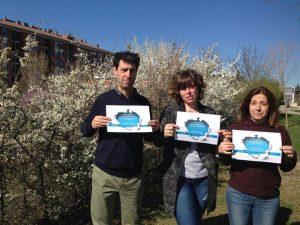 Fernando, Judit y Joana