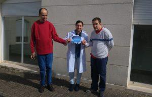 Juanjo, Olatz y Tomás