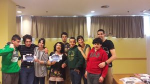 Grupo de Ocio del CC Río Vena Autismo Burgos
