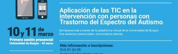 Segunda jornada presencial del Título de Experto Universitario en la aplicación de las TIC en la intervención con personas con TEA
