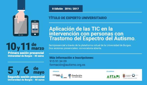 II Jornada presencial TIC y TEA