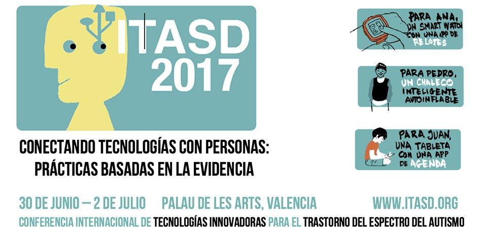 Congreso ITASD 2017 Tecnologías aplicadas a la intervención en TEA