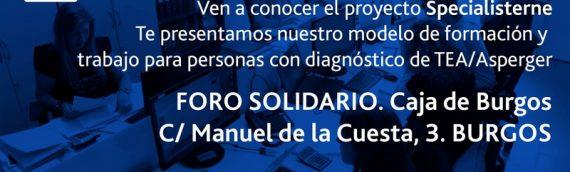 Presentación del proyecto de empleo para personas con TEA Specialisterne en Burgos