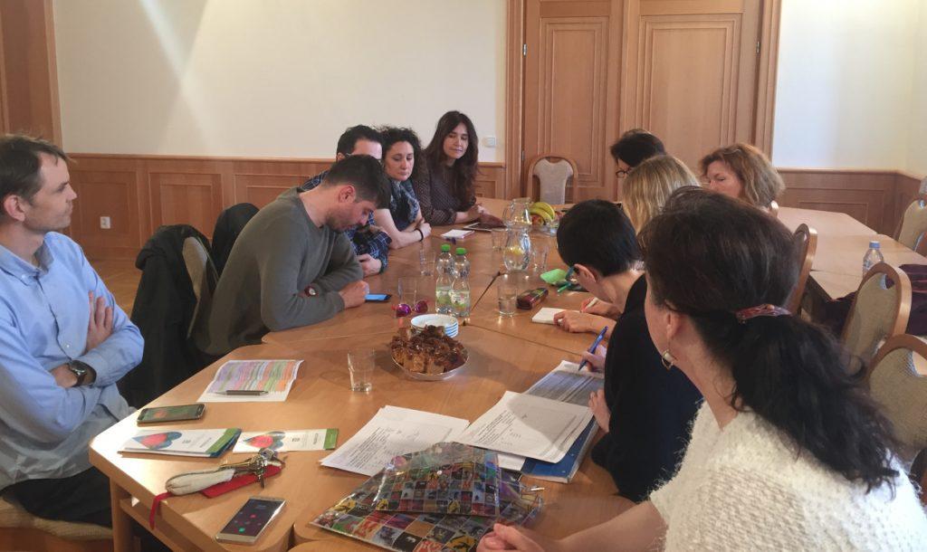Visita profesionales Autismo Burgos a república Checa