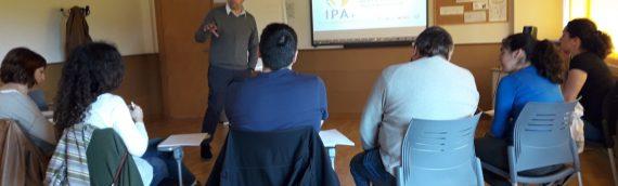 Finalizan los cursos piloto del proyecto IPA+