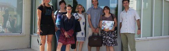 Visita de profesionales de entidades de la República Checa