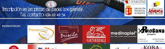 Torneo de Padel en Medina de Pomar a beneficio de Autismo Burgos