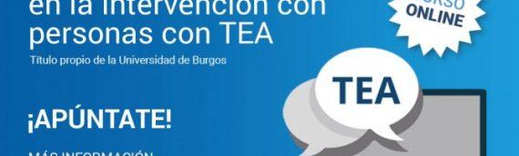 """Abierto el Plazo preinscripción de la IV edición del Título de experto """"Aplicación de las TIC en la intervención con las personas con TEA"""""""