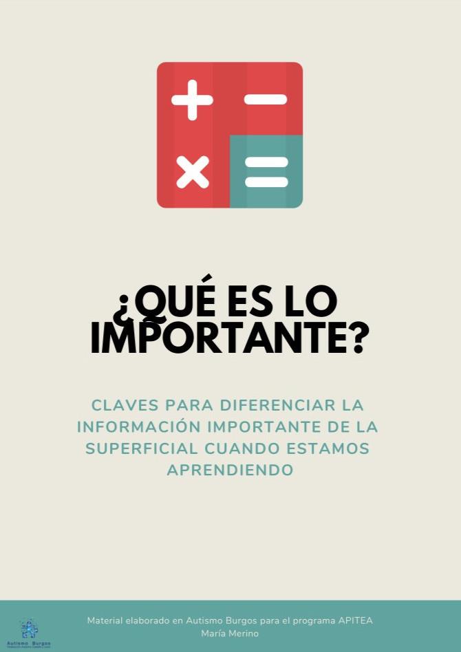 ¿Qué es lo importante?