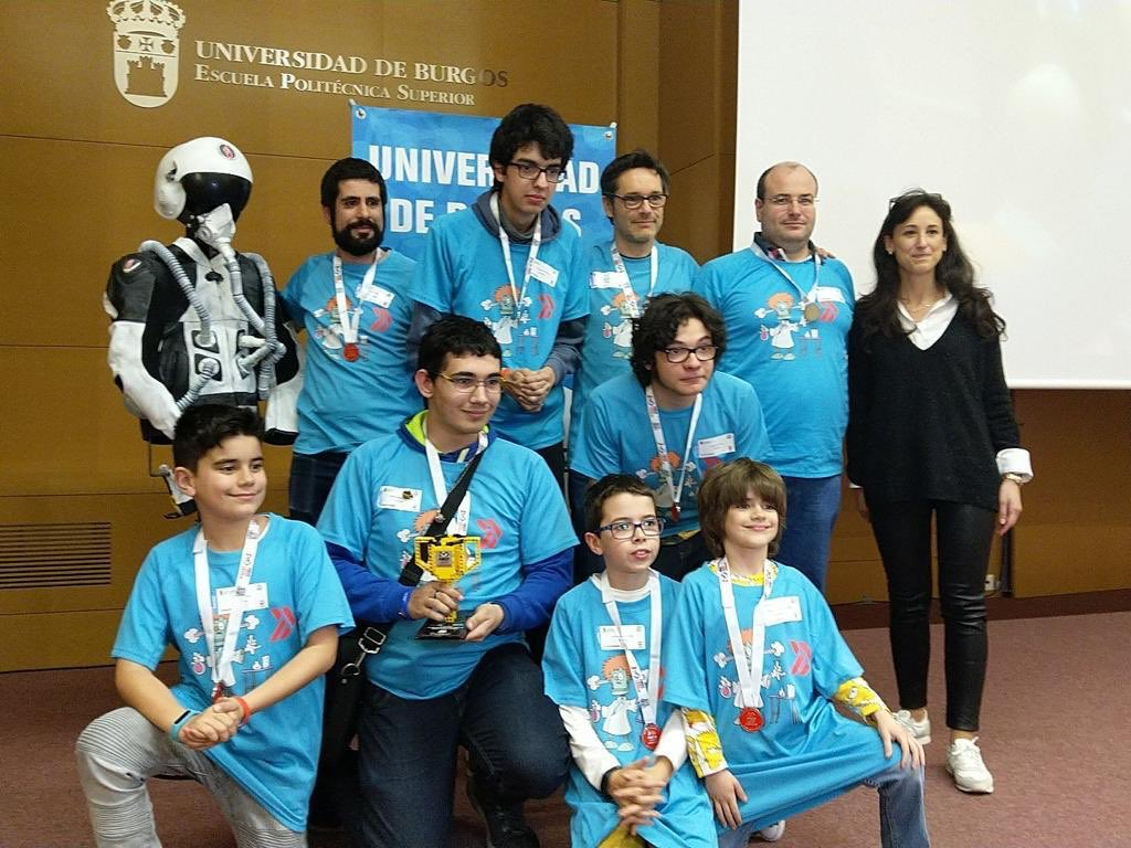 Premio a los Valores para nuestro equipo ASTInautas en la First Lego League