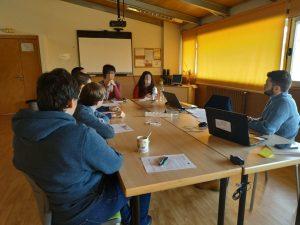 Grupo focal con jóvenes con TEA