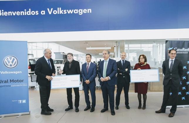 Ureta Motor y Caixabank apoyan a Down Burgos y a Autismo Burgos