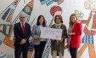 Donación de Fundación Banco Santander para los proyectos de Autismo Burgos