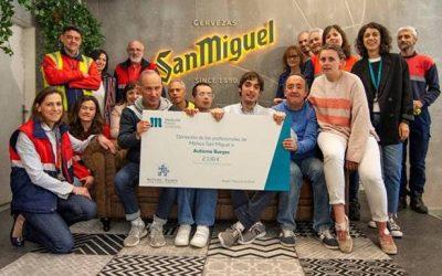 Donación de la Fundación Mahou-San Miguel a Autismo Burgos