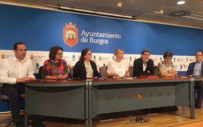 Firma del convenio de apoyo a la inserción laboral con el Ayuntamiento de Burgos