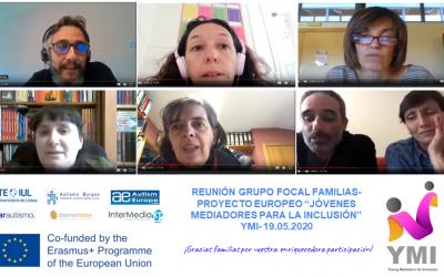 Los socios de YMI organizan mesas redondas virtuales y grupos focales para discutir el autismo y la inclusión