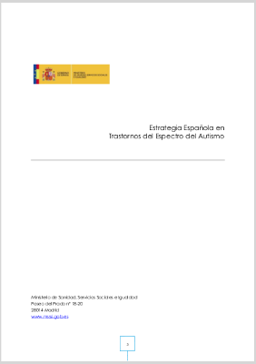 Aprobada la Estrategia Española de personas con TEA