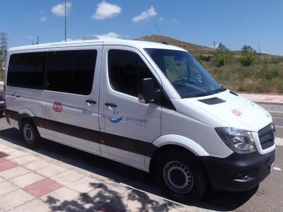 Nuevo vehículo de Autismo Burgos