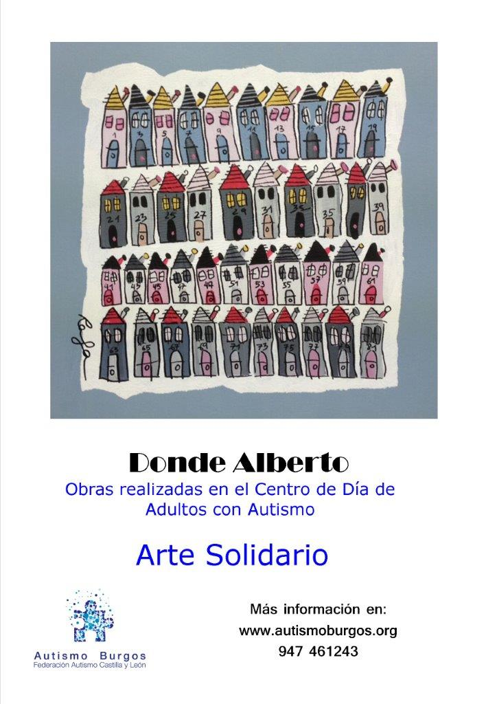 Exposición de cuadros de Autismo Burgos