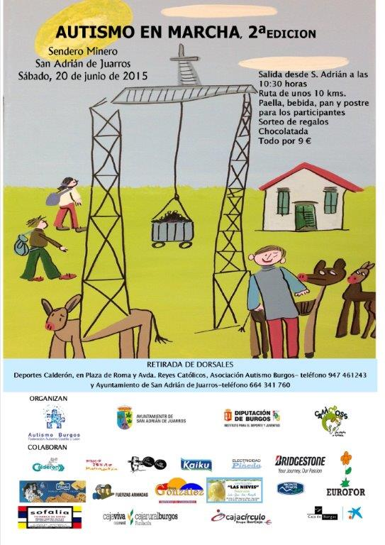 II Marcha Solidaria por el Sendero Minero de San Adrián de Juarros