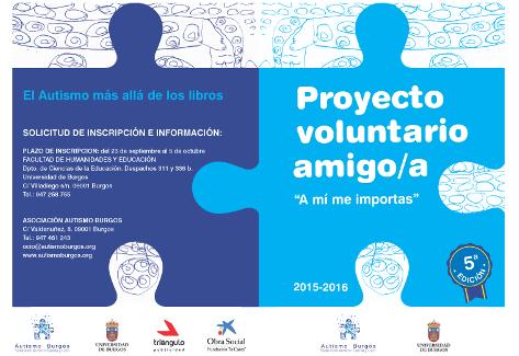 Autismo Burgos participa en los IV Premios al Voluntariado Universitario: «Programa Voluntariado Amigo