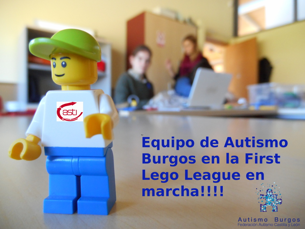 Equipo Autismo Burgos- Asti en la First Lego League