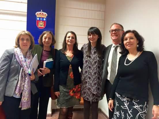 María Merino defiende su tesis doctoral en la UBU