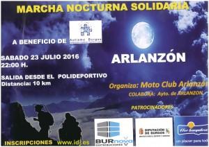 marcha nocturna Arlanzón