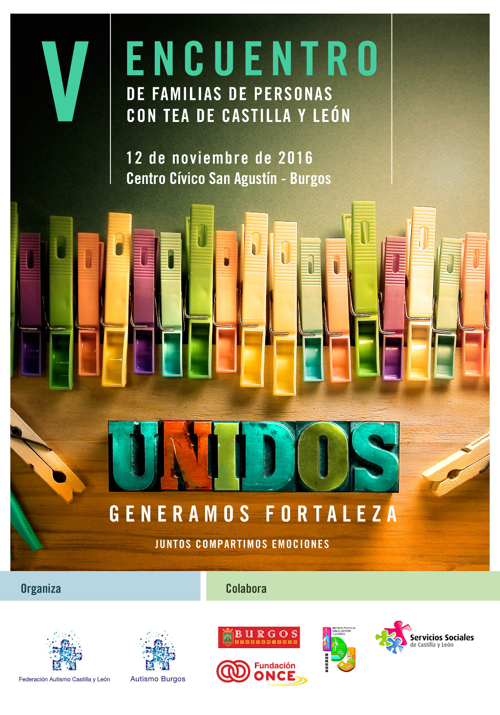 Se celebrará en Burgos el V encuentro de familias de personas con TEA de CyL