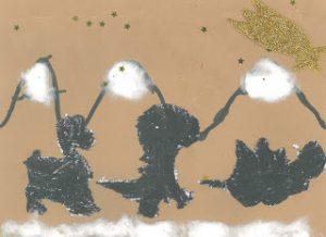 concurso postales navideñas dinosaurios
