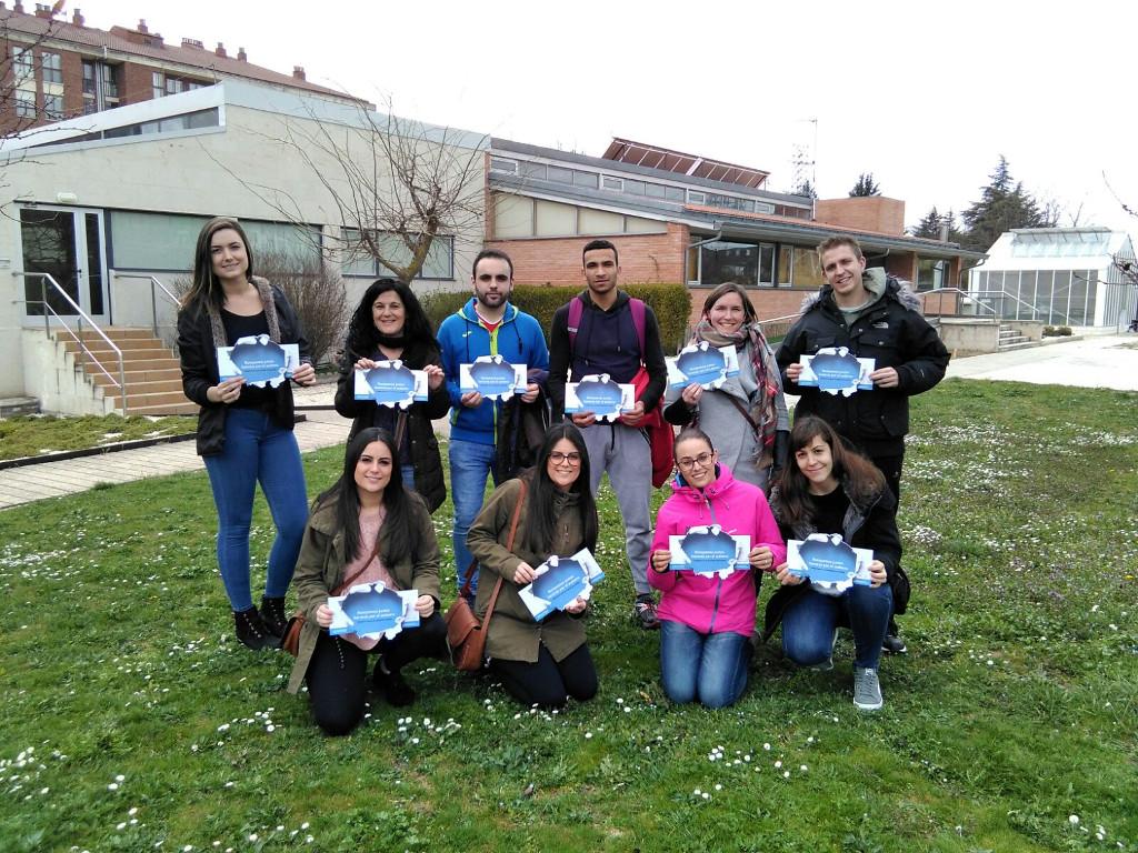 Grupo de voluntari@s del Programa Voluntari@ Amig@