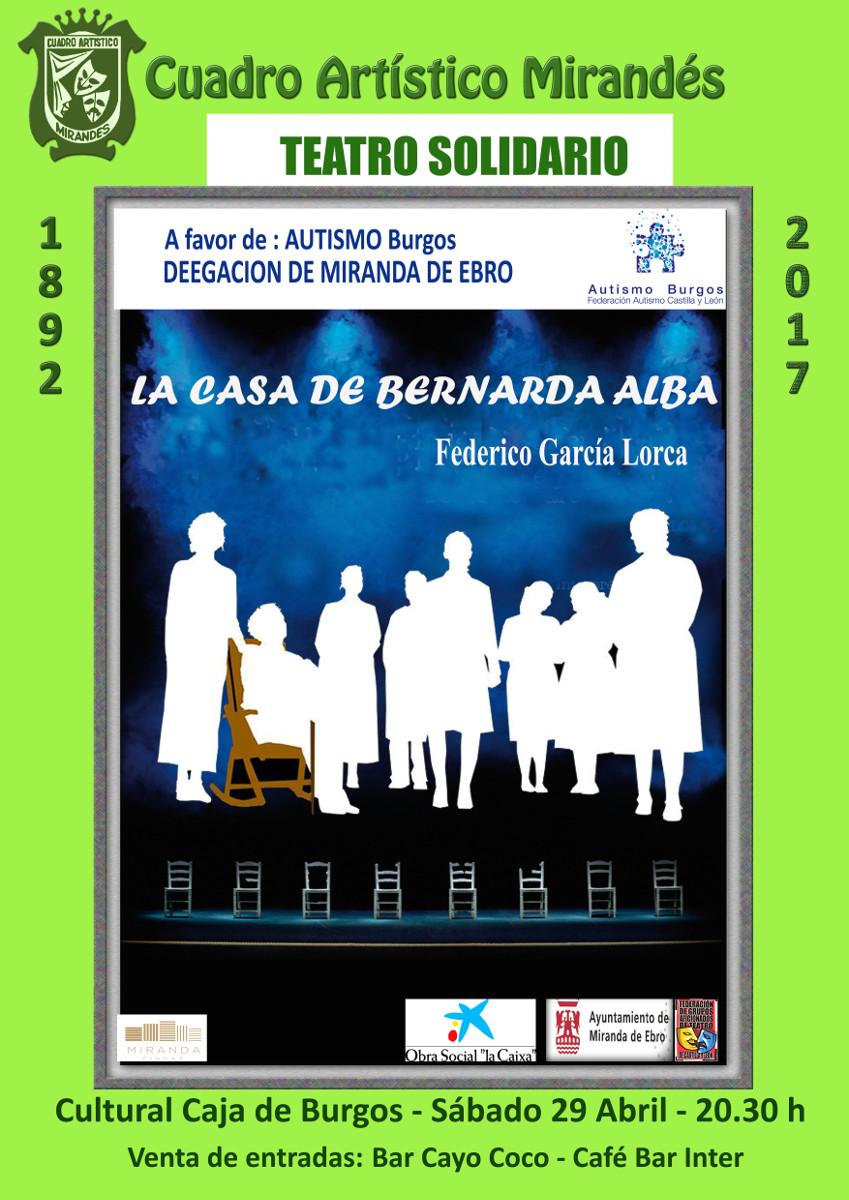 Teatro solidario a favor de Autismo Burgos