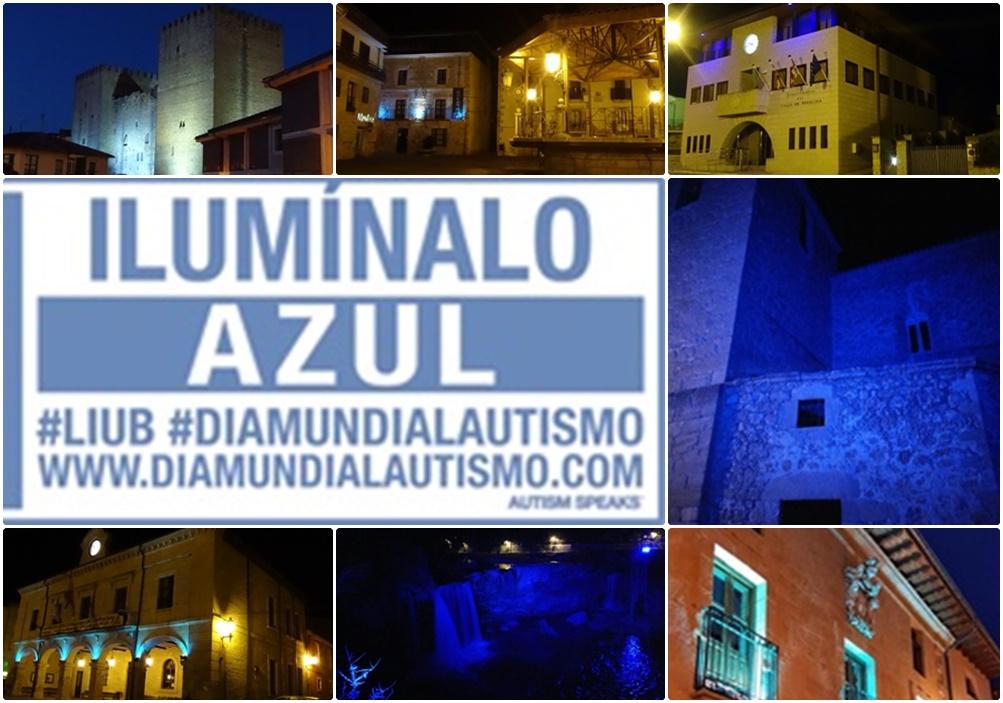 Ilumínalo de azul #LIUB en las Merindades de Burgos