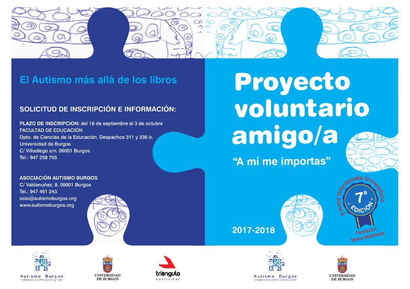Hazte Voluntario/a de Autismo Burgos