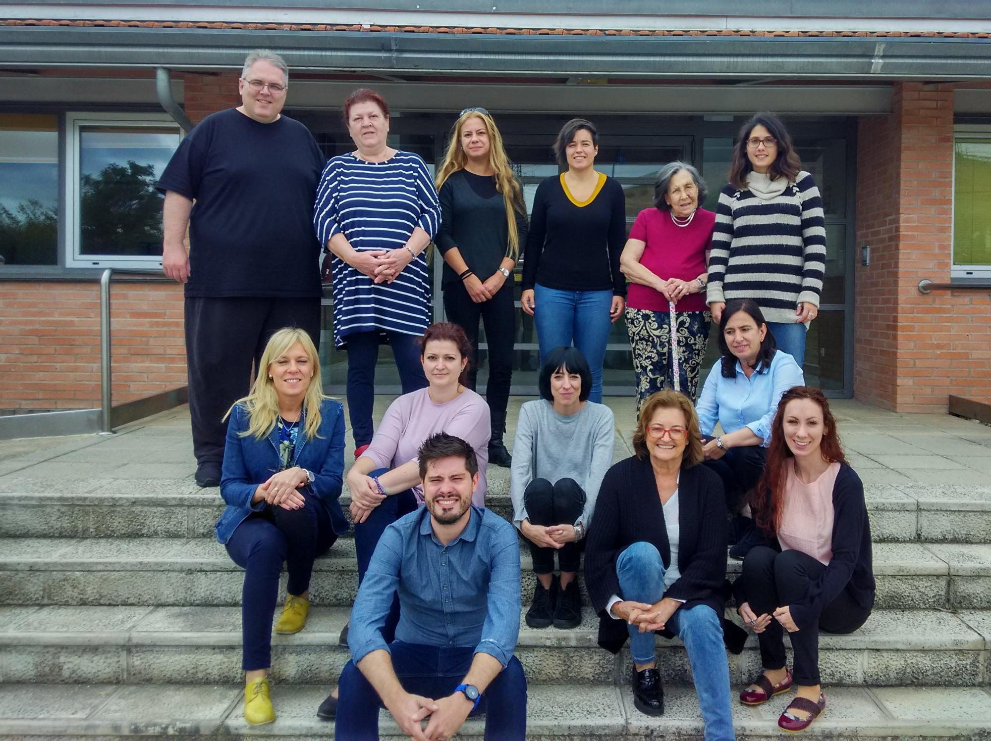 Reunión del proyecto IPA+ en Burgos