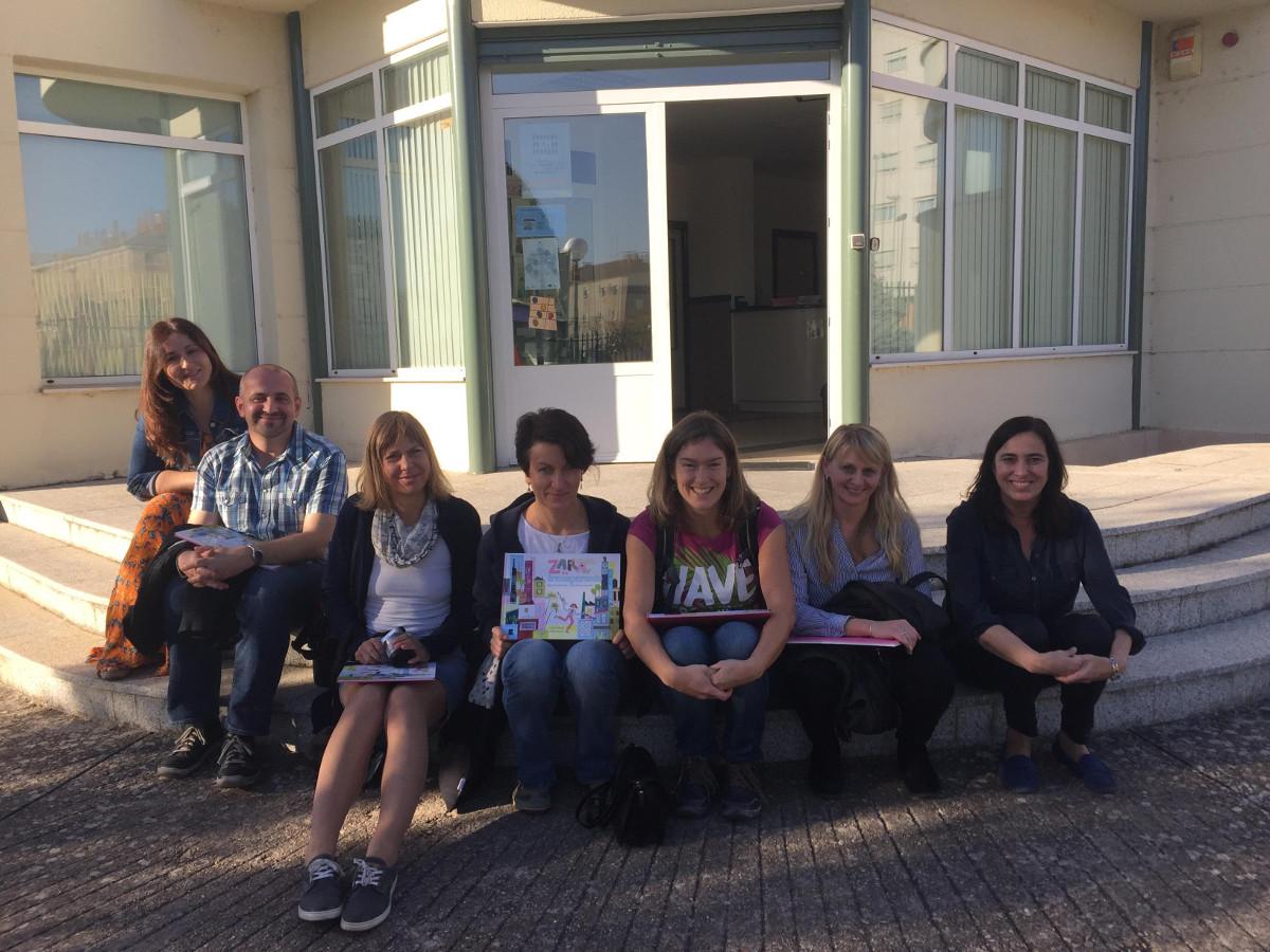 Visita formativa de profesionales de la República Checa a Autismo Burgos