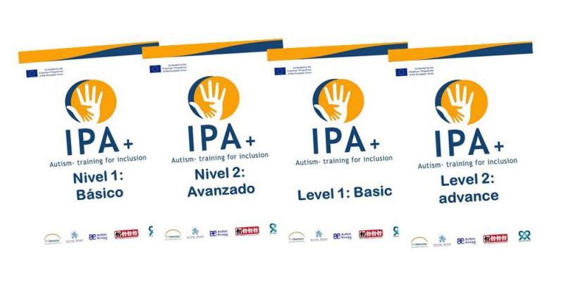 Documentación sobre el curso de formación en autismo desarrollado por el proyecto IPA+