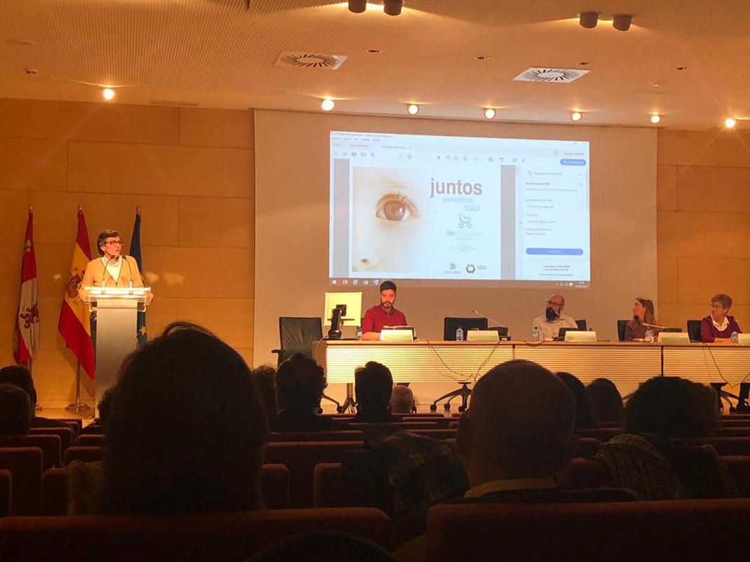 Autismo Burgos ha estado presente en la II Jornada 'Creamos educación inclusiva' de CyL