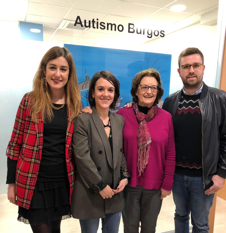 Inaguración de la nueva sede de Autismo Burgos en Miranda de Ebro